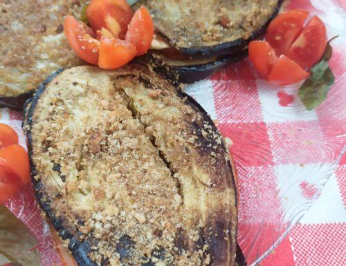 Cotolette di melanzane grigliate al forno