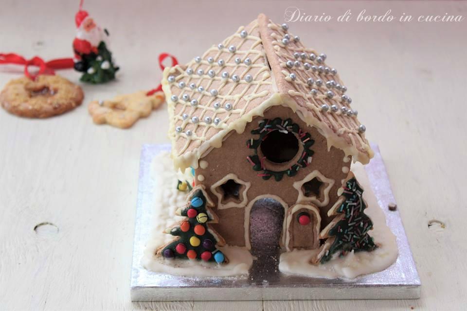 Casetta Di Natale Con Pasta Frolla : Casetta natalizia di pastafrolla