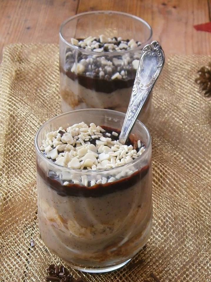 Pandoro alla crema caff e cioccolato for Bicchieri caffe