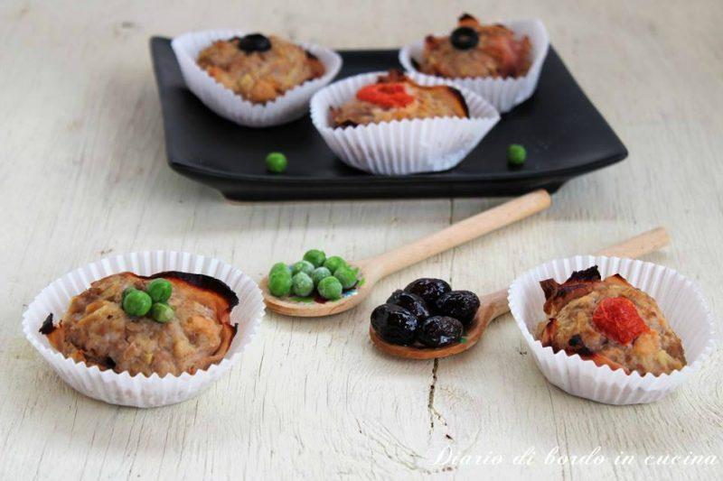 Cupcake di carne macinata