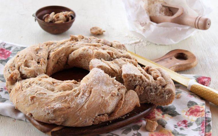 Pane con i cicoli o ciccioli