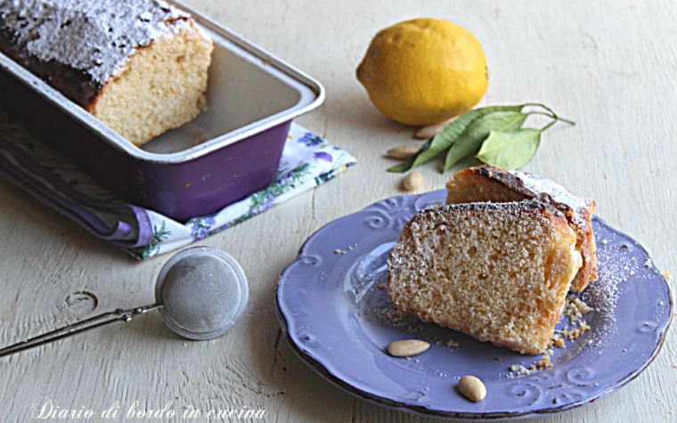 Plumcake limone e mandorle