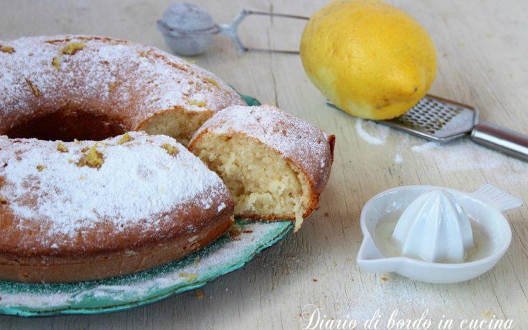 Ciambella al succo di limone