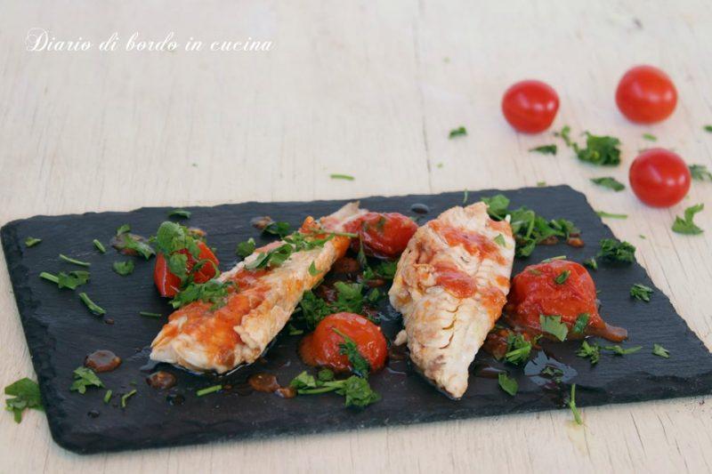 Gallinella con pomodorini