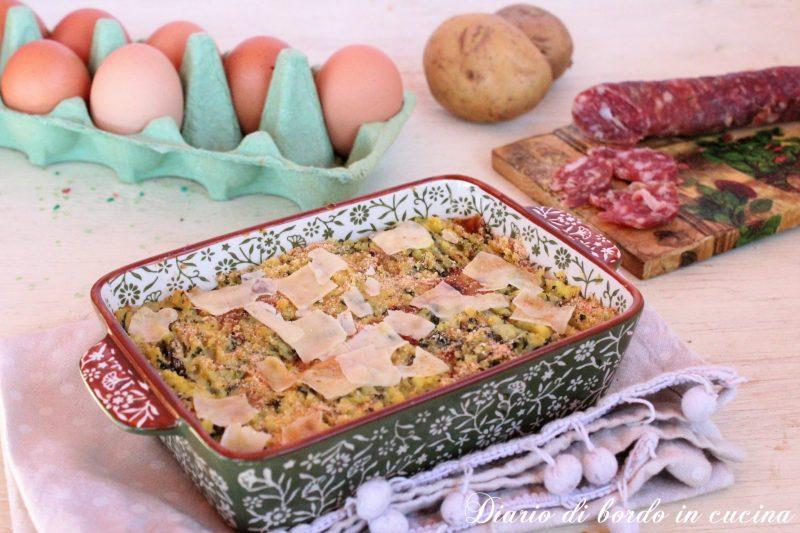 Gateau di patate e broccoli