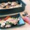 Pesce balestra con patate e pomodorini