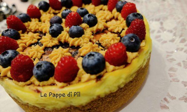 CHEESE CAKE FRUTTI DI BOSCO E CARAMELLO