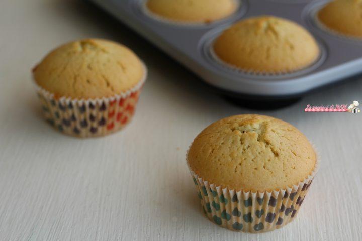 muffin senza lattosio e senza lievito
