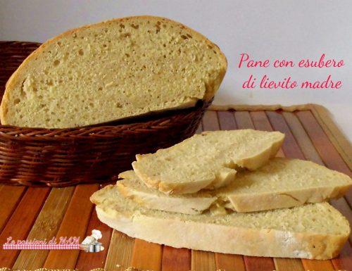 Pane con esubero di lievito madre