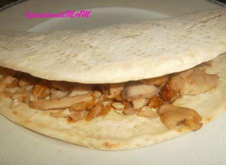 Piadina con il kebab