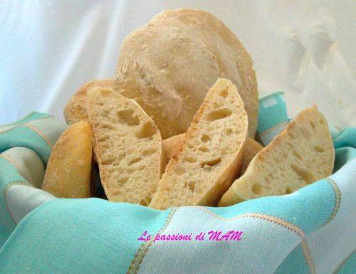 Pane ciabatta con lievito madre