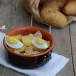 insalata di patate tonno e uovo sodo