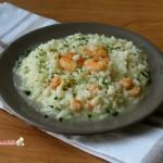 risotto con i gamberi