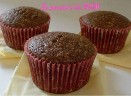 Muffin di albumi al cacao