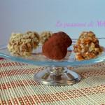 palline di torta alla crema