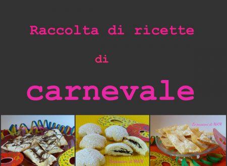 Raccolta gratuita in pdf ricette di carnevale Carnevalando vol.3