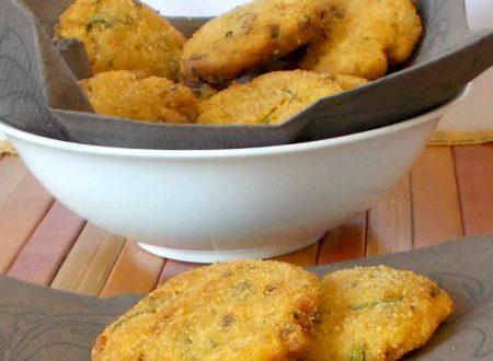 Crocchette di patate zucchina e funghi