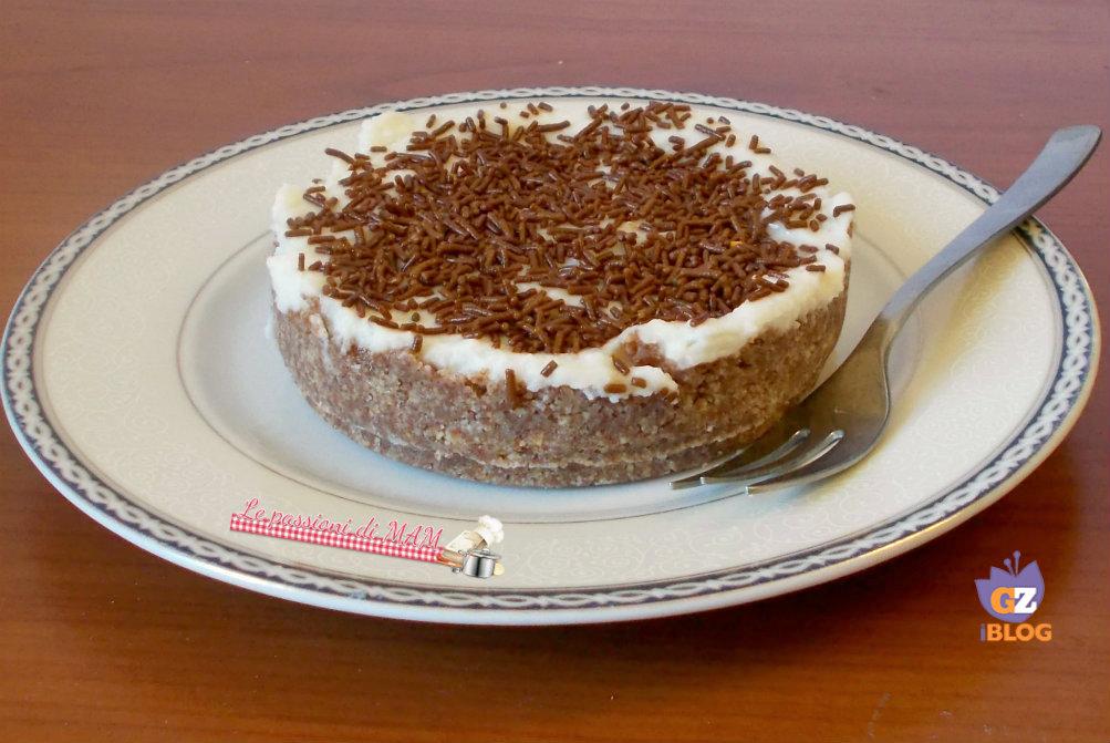 torta fredda con ricotta
