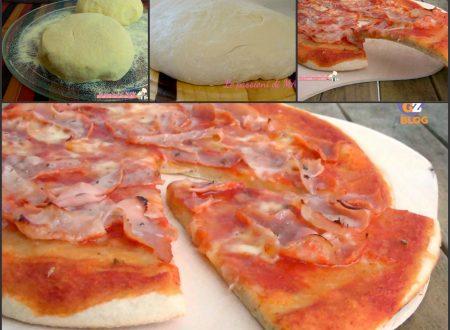 Pizza con farina di grano duro