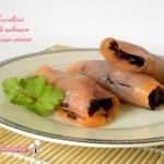 involtini di salmone e riso venere