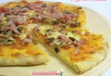 Pizza con il poolish