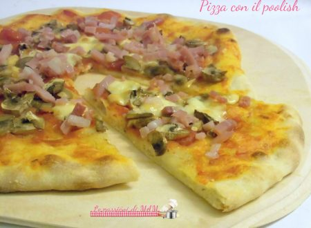 Pizza con il poolish