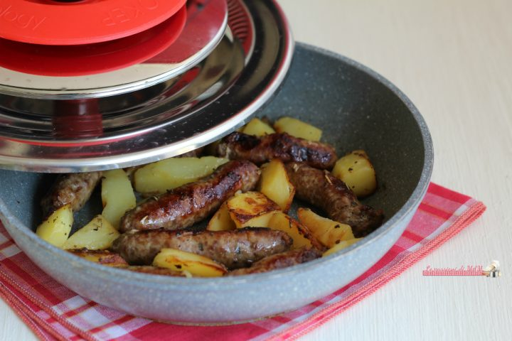 salsiccia e patate con magic cooker