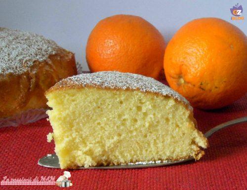 Torta all'arancia della maestra