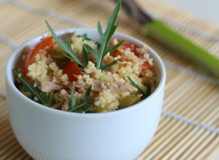 Cous cous con tonno e pomodori