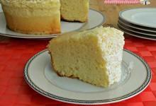 Chiffon cake nel Versilia