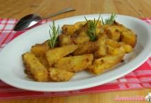 Patate sabbiose nel fornetto Estense