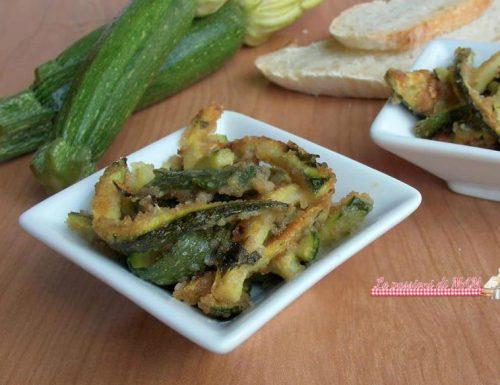 Zucchine sabbiose nel fornetto Estense
