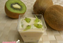 Crema chantilly ai kiwi
