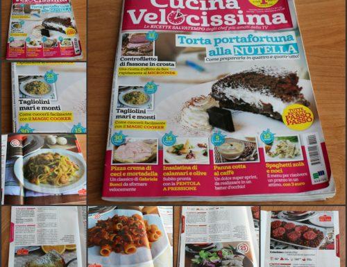 Le mie ricette su Cucina Velocissima