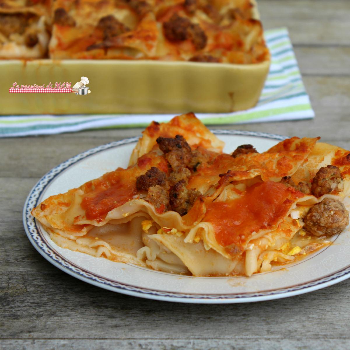 lasagna salentina