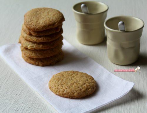 Biscotti semi integrali