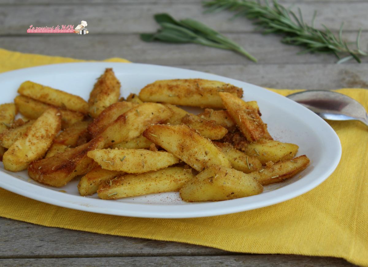Patate Sabbiose alla Paprica