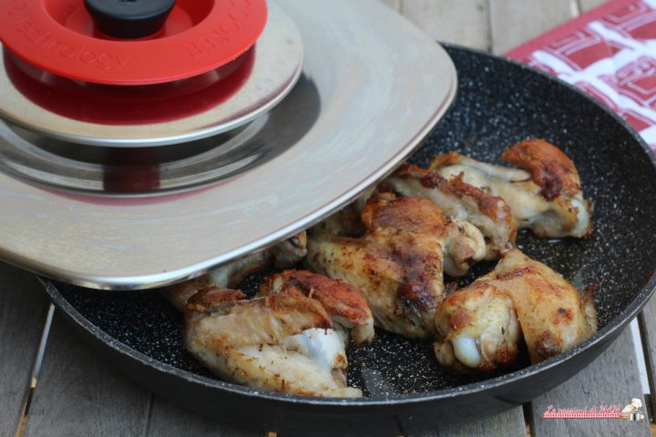 ali di pollo con magic cooker