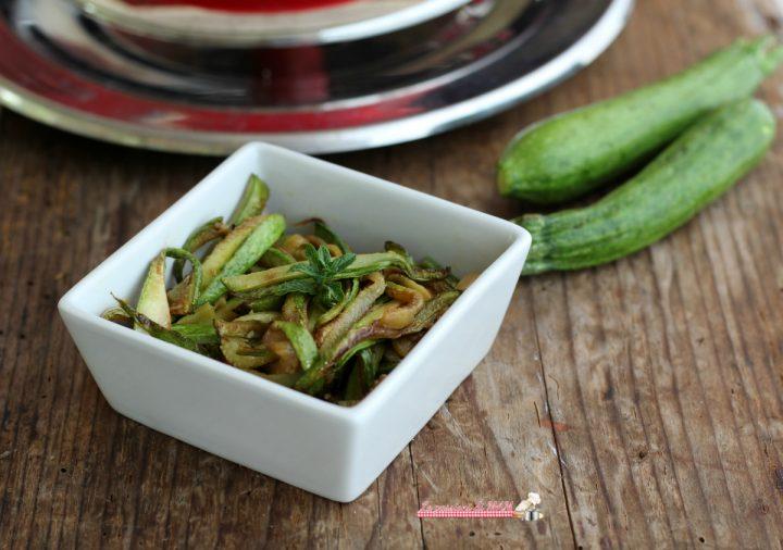 zucchine alla scapece con Magic Cooker