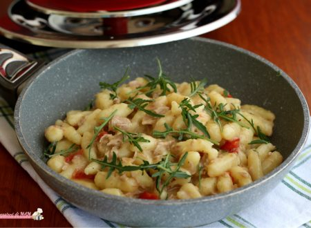 Gnocchi tonno e rucola con Magic Cooker