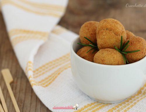 Crocchette di ceci, fritte o al forno