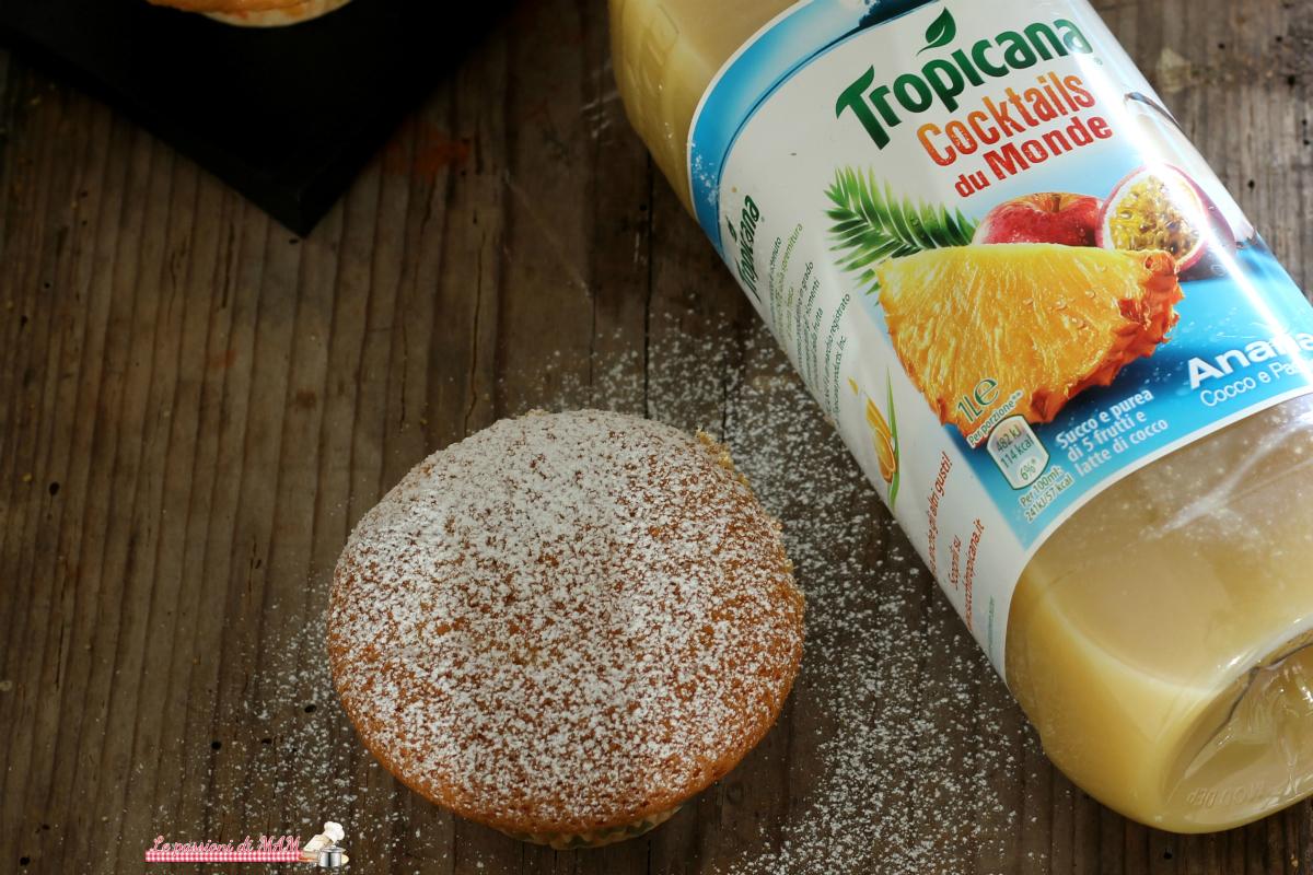 muffin al succo di frutta tropicana