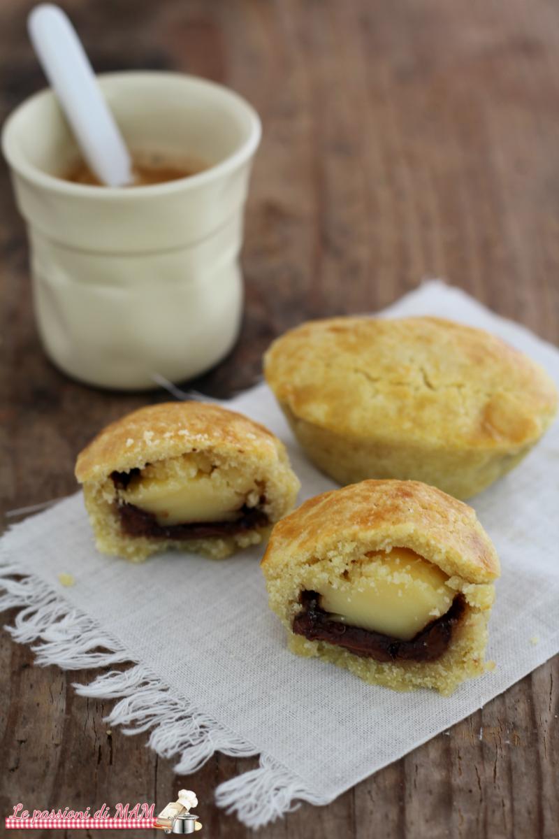 Mini Pasticciotti con Crema e Nutella