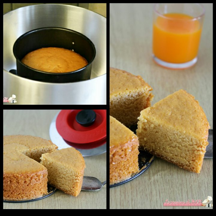Torta al succo di frutta con Magic Cooker