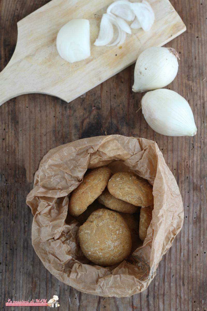 Panini con la cipolla