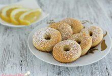 Ciambelline al limone con pasta frolla senza burro