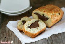Plumcake di frolla con nutella