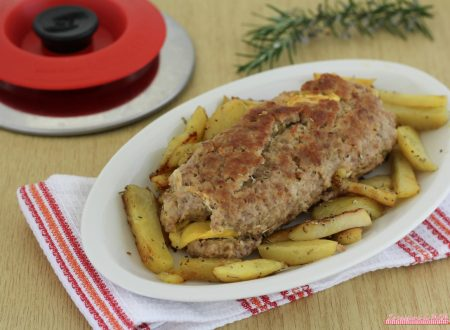 Polpettone e patate con Magic Cooker