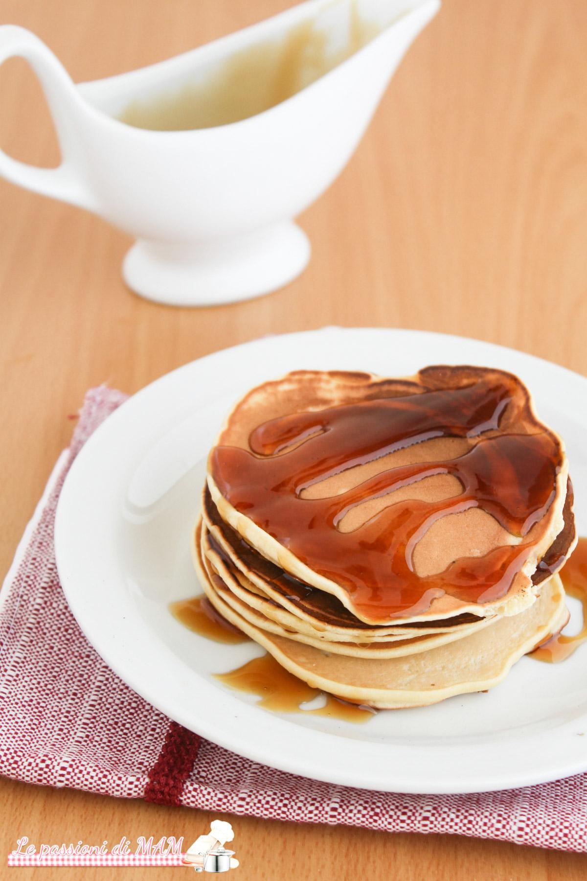 Pancake senza burro e latte