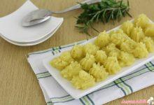 Purè di patate all'olio aromatizzato